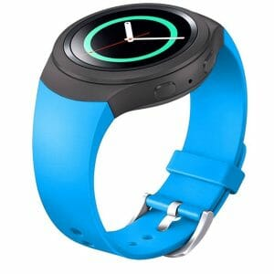 Samsung Gear S2 bandje silicone sky blauw_005