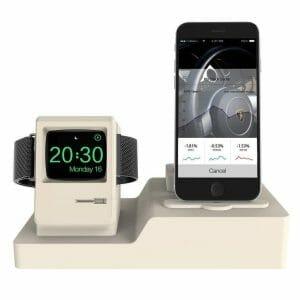3-in-1 oplaadstation (wit) Dock-houder Houder Station Voor AirPods Apple Watch Serie 3-2-1- iPhone X-8-Plus-7-7-6-Plus_001