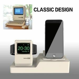 3-in-1 oplaadstation (wit) Dock-houder Houder Station Voor AirPods Apple Watch Serie 3-2-1- iPhone X-8-Plus-7-7-6-Plus_007