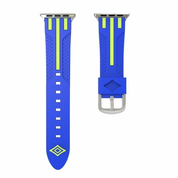 Apple watch bandje 38mm duo blauw - groen_002