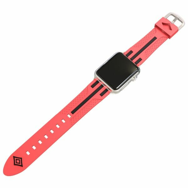 Apple watch bandje 38mm duo rood - zwart_001