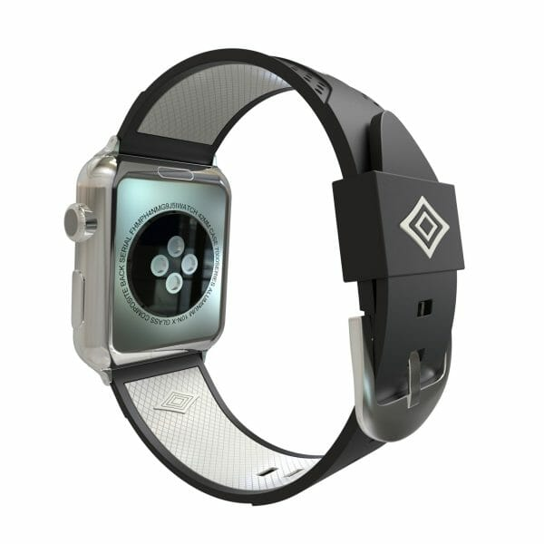 Apple watch bandje 38mm duo zwart - wit_004