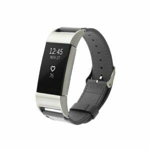 Fitbit Charge 2 bandje leer grijs_003