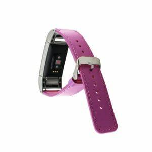 Fitbit Charge 2 bandje leer roze_003
