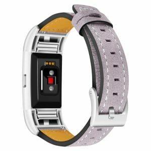 Fitbit Charge 2 bandjes leer paars_003