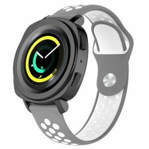 Samsung Gear Sport bandje grijs - wit_003