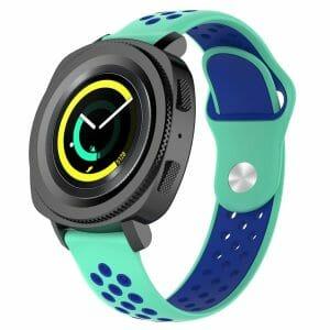 Samsung Gear Sport bandje groen - blauw_006