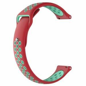 Samsung Gear Sport bandje rood - groen_001