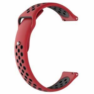 Samsung Gear Sport bandje rood - zwart_002