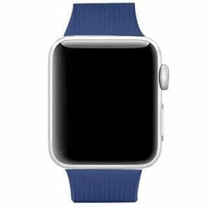 42mm en 44mm Sport bandje Ocean Blue geschikt voor Apple watch 1 - 2 - 3 - 4 _001