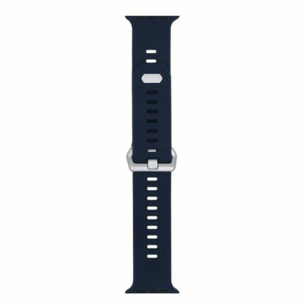 42mm en 44mm Sport bandje midnight blue geschikt voor Apple watch 1 - 2 - 3 - 4 _003