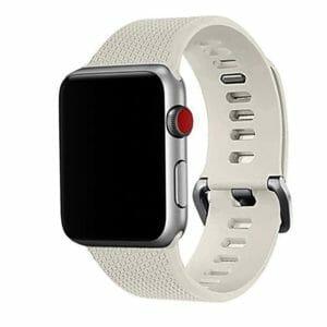 42mm en 44mm Sport bandje stone geschikt voor Apple watch 1 - 2 - 3 - 4 _003