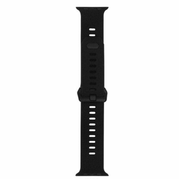 42mm en 44mm Sport bandje zwart geschikt voor Apple watch 1 - 2 - 3 - 4 _010