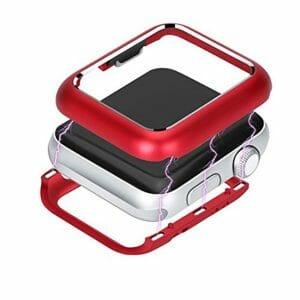 38mm beschermende Magnetisch Case Cover Protector Apple watch 2 - 3 rood_1009