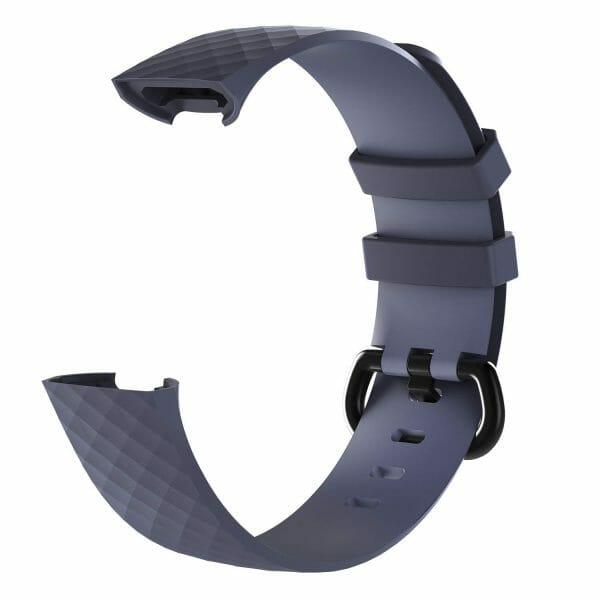 Bandje geschikt voor Fitbit Charge 3 SMALL – grijs