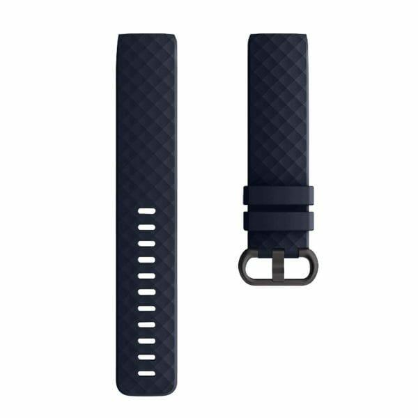 Bandje geschikt voor Fitbit Charge 3 SMALL – marine blue