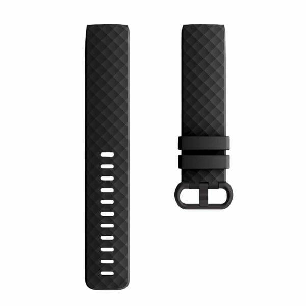 Bandje geschikt voor Fitbit Charge 3 SMALL – zwart_001