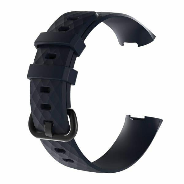 Bandje geschikt voor Fitbit Charge 3 SMALL – zwart_002