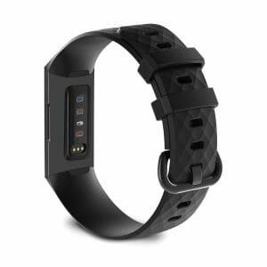 Bandje geschikt voor Fitbit Charge 3 SMALL – zwart_004
