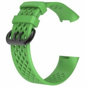 Fitbit Charge 3 bandje sport SMALL – groen