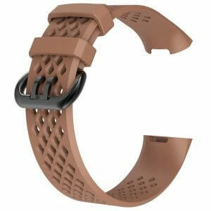 Fitbit Charge 3 bandje sport SMALL – koffie