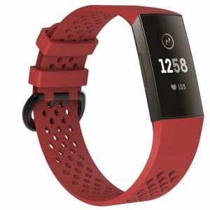 Fitbit Charge 3 bandje sport SMALL – rood_1003