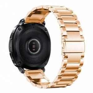 Samsung Gear Sport bandje Galaxy Watch 42mm SM-R810 Galaxy Watch 42mm SM-R810 RVS rose goud Metaal_004