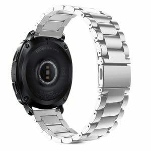 Samsung Gear Sport bandje Galaxy Watch 42mm SM-R810 Galaxy Watch 42mm SM-R810 RVS zilver Metaal_007
