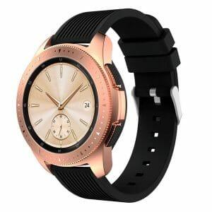 Samsung Gear Sport bandje Galaxy Watch 42mm SM-R810 Galaxy Watch 42mm SM-R810 silicone zwart small_002