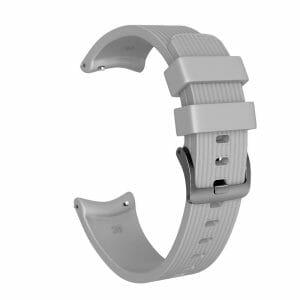 Bandje Voor de Samsung Gear S3 Classic - Frontier - Siliconen Samsung Galaxy Watch 46mm - grijs_0002001