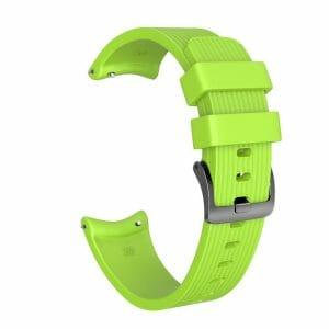 Bandje Voor de Samsung Gear S3 Classic - Frontier - Siliconen Samsung Galaxy Watch 46mm - groen_0002002