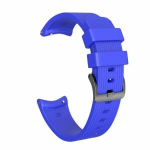 Bandje Voor de Samsung Gear S3 Classic - Frontier - Siliconen Samsung Galaxy Watch 46mm - lichtblauw_0002004