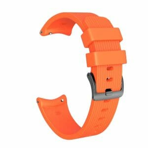 Bandje Voor de Samsung Gear S3 Classic - Frontier - Siliconen Samsung Galaxy Watch 46mm -oranje_0002004